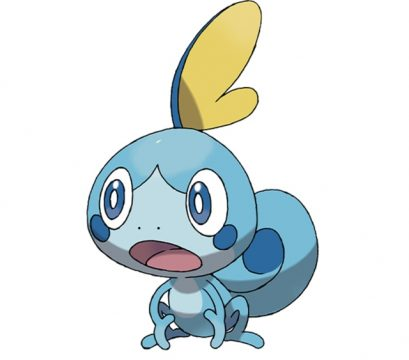 pokemon sword and shield official art sobble