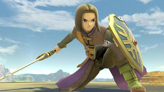 Smash Ultimate Dragon Quest Hero release date may have been revealed by accident