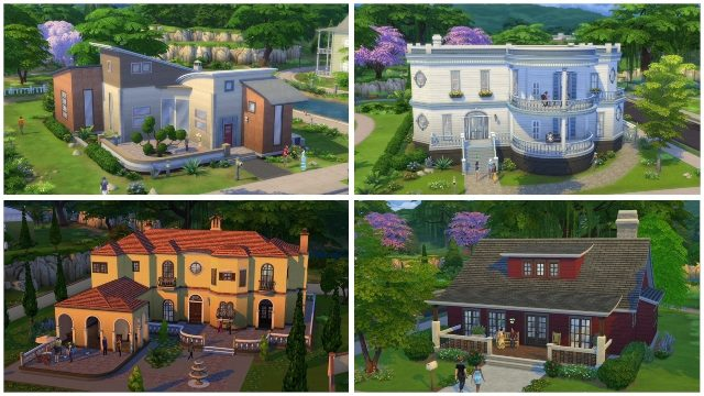 the sims 4 house grid