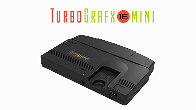 TurboGrafx-16 Mini release date and games list revealed