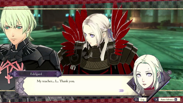 Fire Emblem Three Houses Fourth Route edelgard