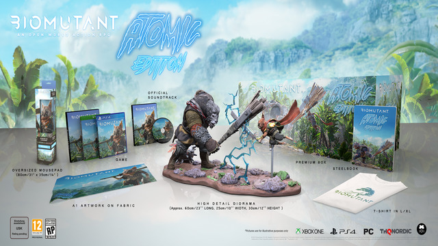 Biomutant special editions Atomic Edition