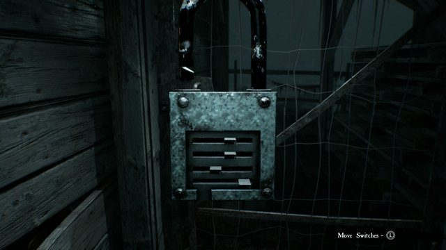 Blair Witch Sawmill Lock unlock