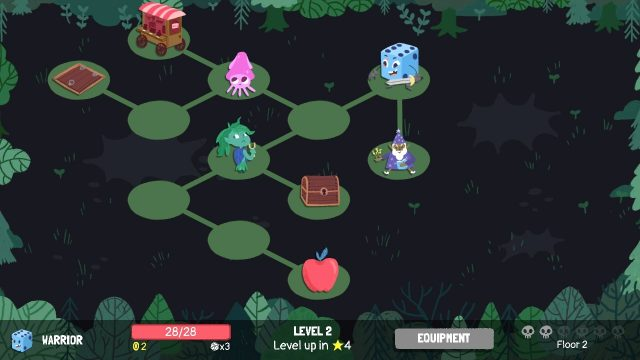 Dicey Dungeons Board Game Gameplay