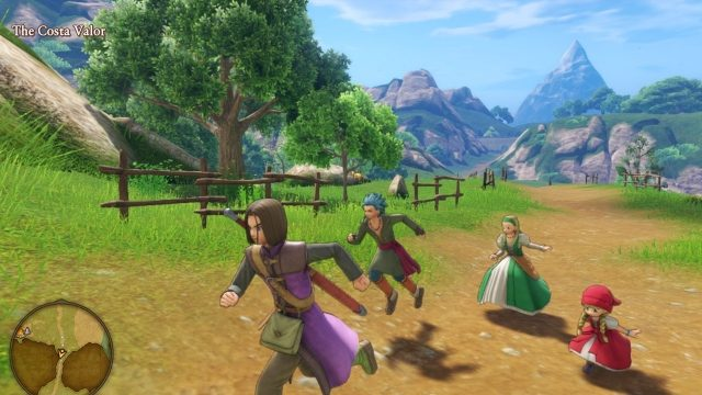 Dragon Quest 11 Switch differences Aesthetic upgrades & downgrades (1)