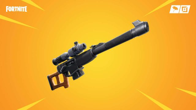 Fortnite Auto Sniper Rifle Nerf