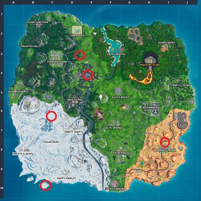 Fortnite Season 10 Week 3 Worlds Collide
