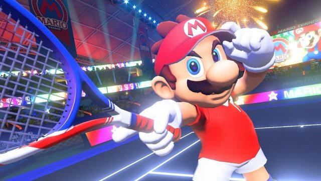 Mario Tennis Aces for free
