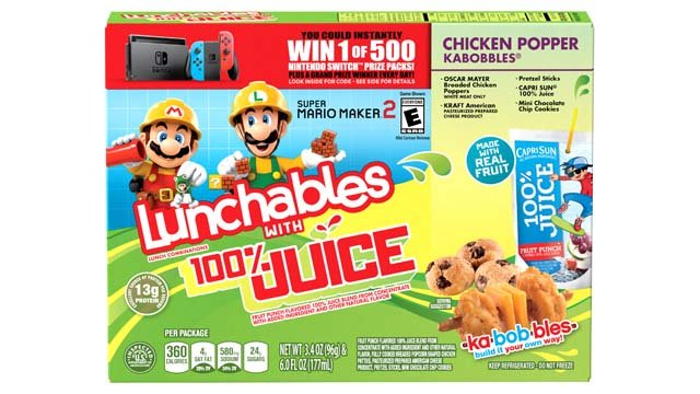 Nintendo Lunchables