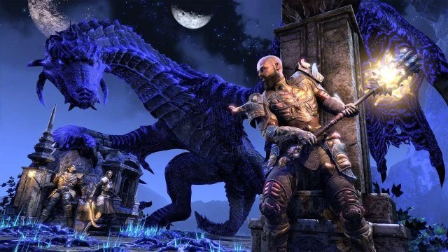 The Elder Scrolls Online Scalebreaker DLC Dragons