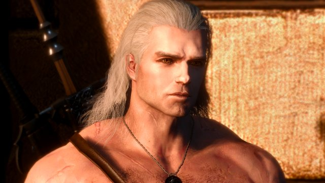 The Witcher 3 Henry Cavill Geralt mods mimic Netflix show