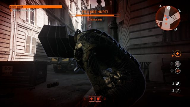 Wolfenstein Youngblood Switch dying together
