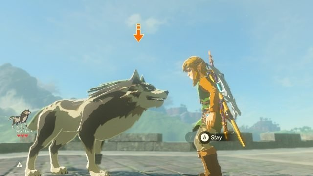 best video game dogs wolf link
