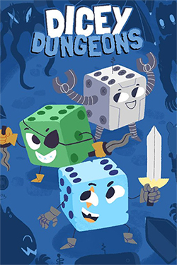 Box art - Dicey Dungeons Review | A crapshoot without the crap