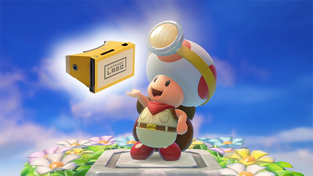 captain toad treasure tracker vrcaptain toad treasure tracker vr