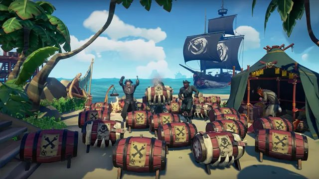 Sea of Thieves is getting fire according to developer leak