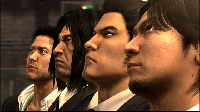 yakuza 3, 4, and 5 remastered