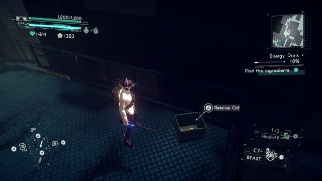 Astral Chain cat location 11.2