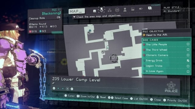 Astral Chain cat location 12.4.1