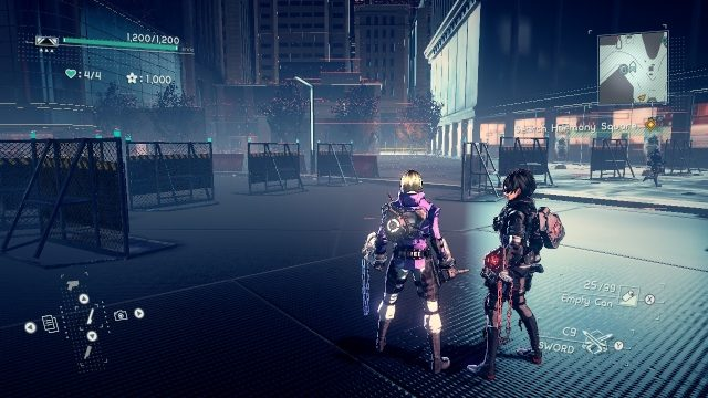 Astral Chain cat location 9.1