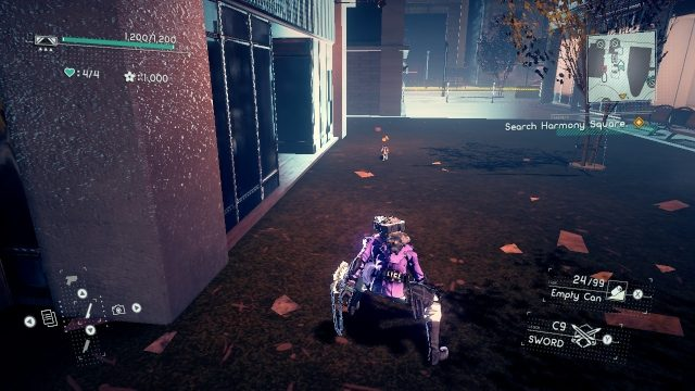 Astral Chain cat location 9.2