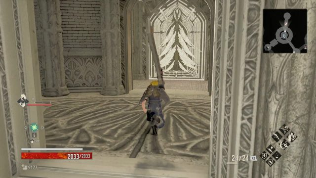 Code Vein Sealed Door Inner Tower Cathedral of Blood
