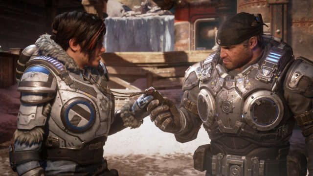 How many acts in Gears 5