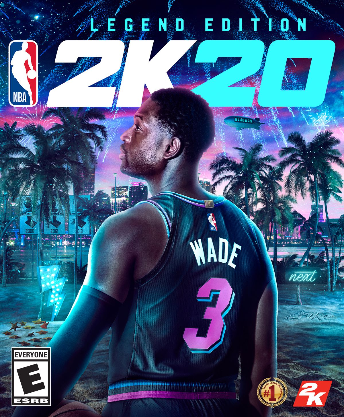 Box art - NBA 2K20