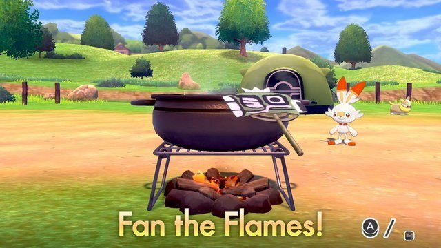 Pokemon Sword and Shield Curry Cooking Nintendo Direct