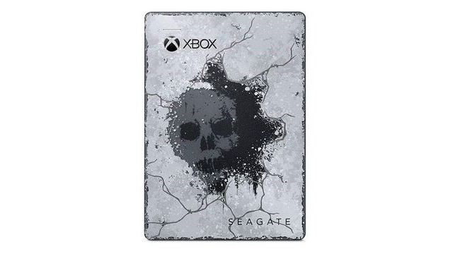 Seagate Game Drive for Xbox Gears 5 Review Front