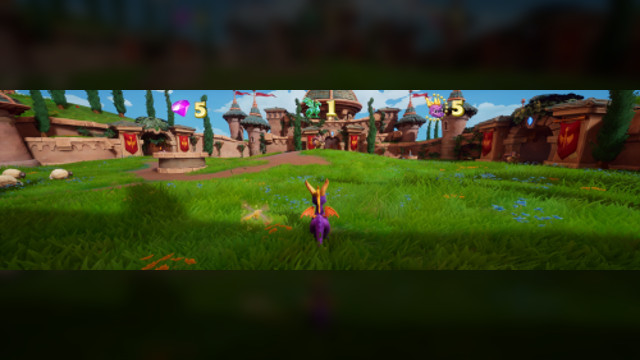 Spyro Reignited Mod widescreen