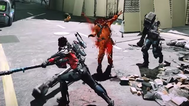 The Surge 2 parrying