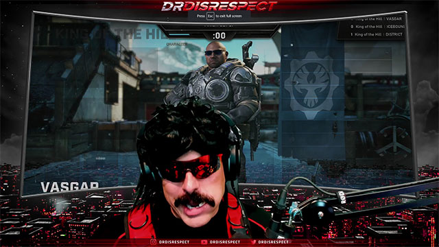 Dr Disrespect has changed his mind on Gears 5