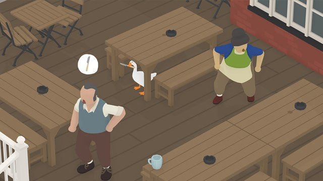 untitled goose game how to get into the pub
