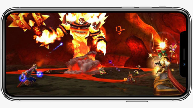 WoW Classic player is playing the game entirely on their smartphone