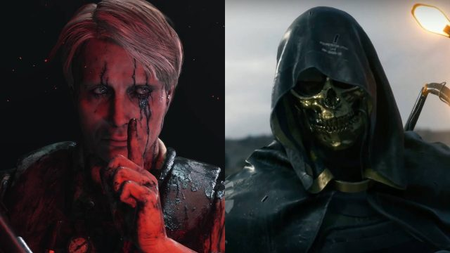 Death Stranding Higgs and Cliff