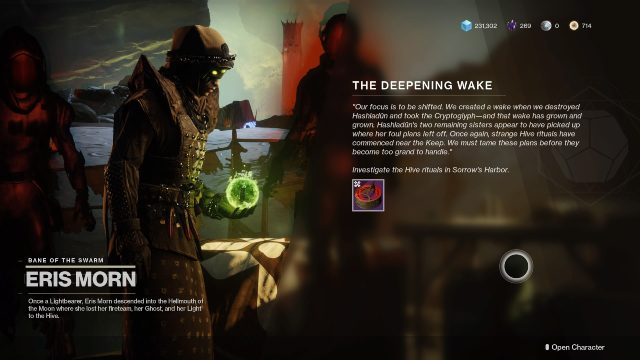 Destiny 2 pit of heresy how to start - the deepening wake