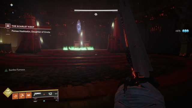 Destiny 2 Scarlet Keep Elevator Crystal