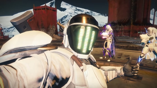Destiny 2 Shadowkeep Saw something weird on the moon 2