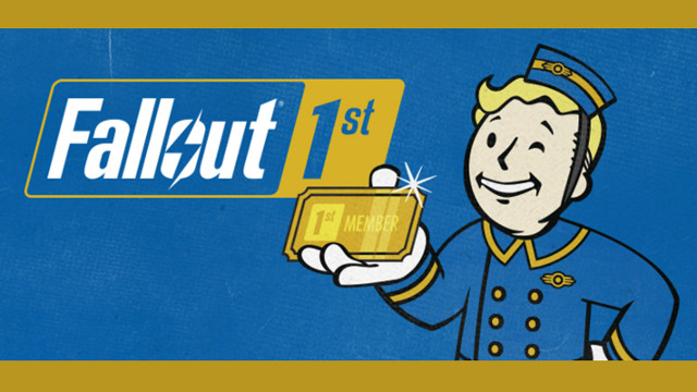 Fallout 76 Fallout 1st Cover