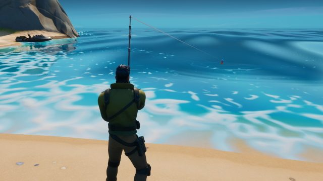 How to fish in Fortnite Season 11