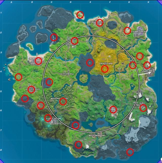 Fortnite Forged in Slurp Challenges Cheat Sheet