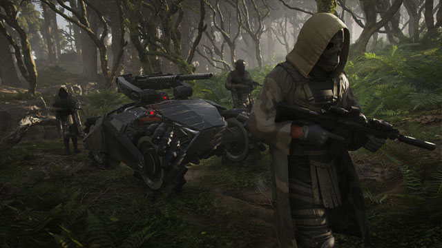 Ghost Recon Breakpoint third-person aiming
