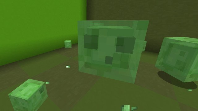 where to find slimes minecraft 1.4