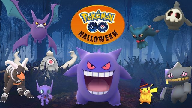 Pokemon Go Halloween Event 2019