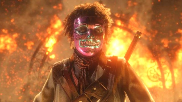 Red Dead Online Halloween Mask Unlocks Madam Nazar Location