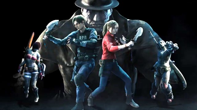 Resident Evil 2 Monster Hunter World crossover
