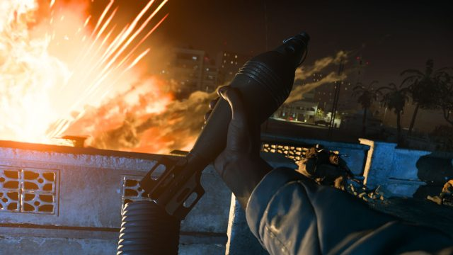 modern warfare rocket launch first person