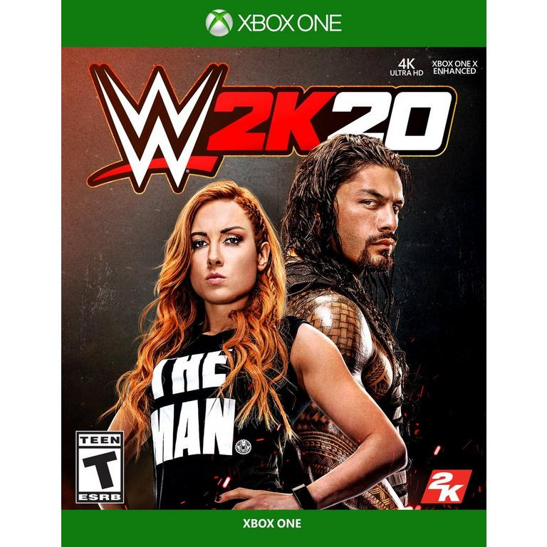 Box art - WWE 2K20