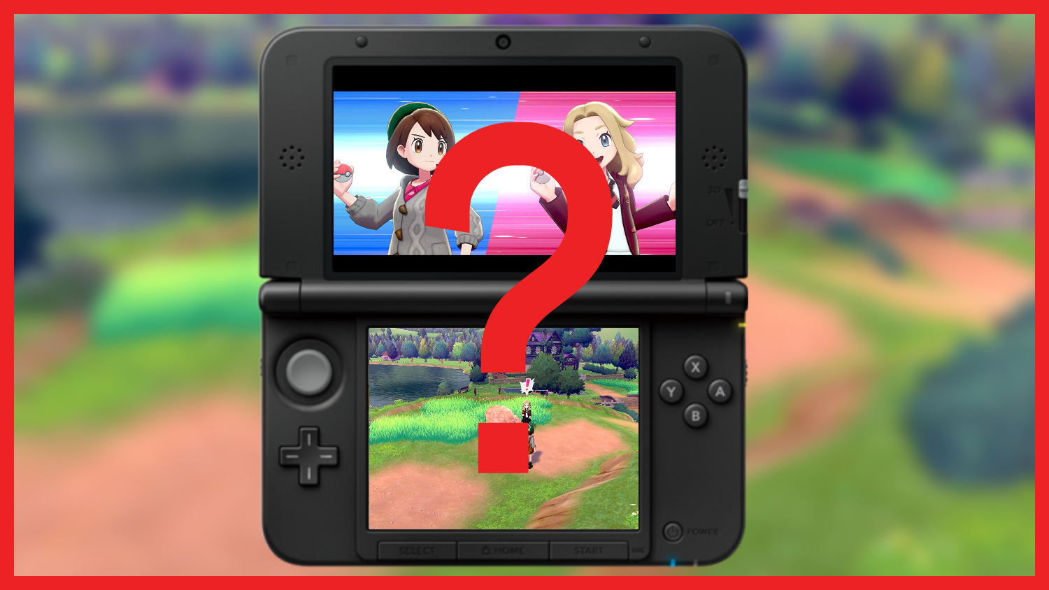 Is there a Pokemon Sword and Shield 3DS version_